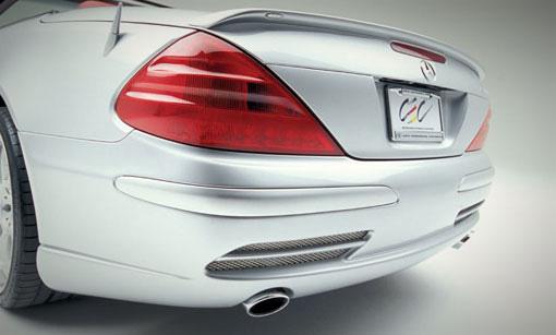 Lorinser Edition Rear Bumper Spoiler Mercedes-Benz SL-Class 03-06