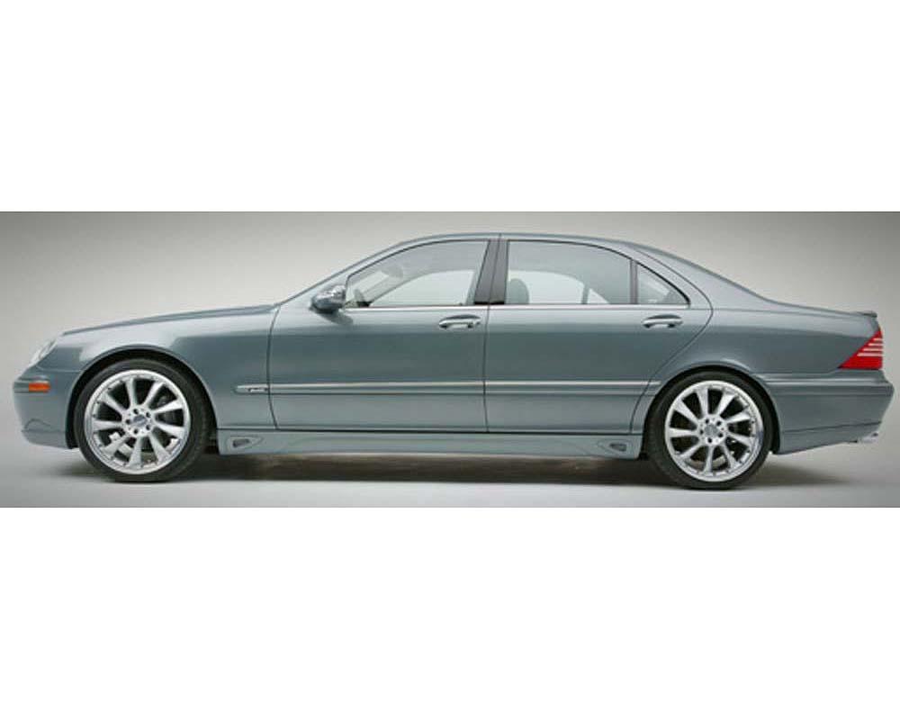 Lorinser Edition Left Side Skirt w/Long Wheelbase Mercedes-Benz S-Class 99-06 - 488 0223 30