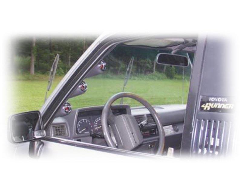 Lotek Dual A-Pillar Pod Toyota 4Runner & Tacoma 84-89 - LTK-4RNR8489-2PLR