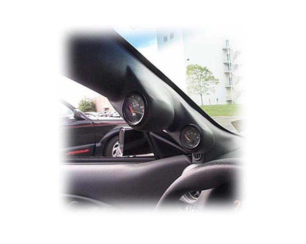 Lotek Dual A-Pillar Pod Chevrolet Camaro 97-00 - LTK-FBODY9300-2PLR