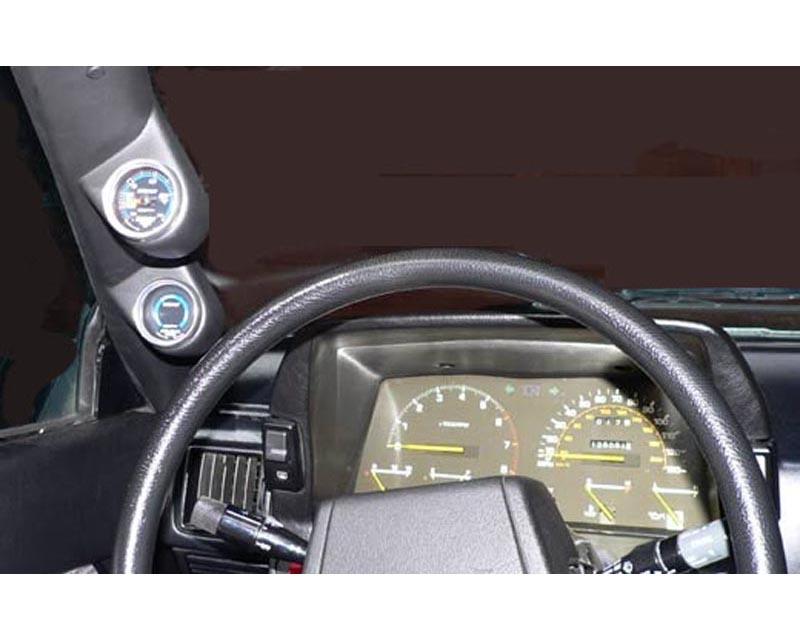Lotek Dual A-Pillar Pod Toyota Supra 82-85 - LTK-SUPRA8285-2PLR