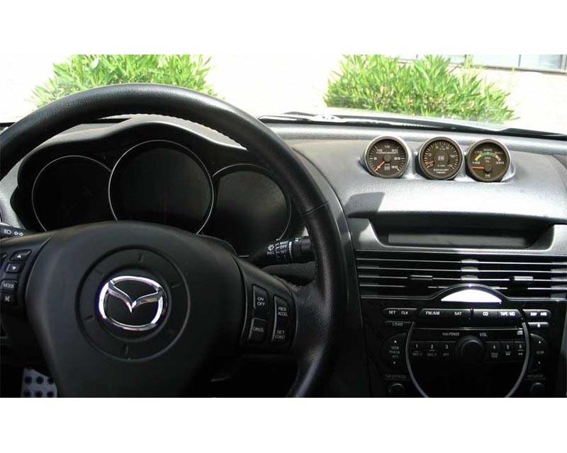 Lotek Triple Bullet Pod Dash Panel Mazda RX-8 03-11 - LTK-RX8-3DSH