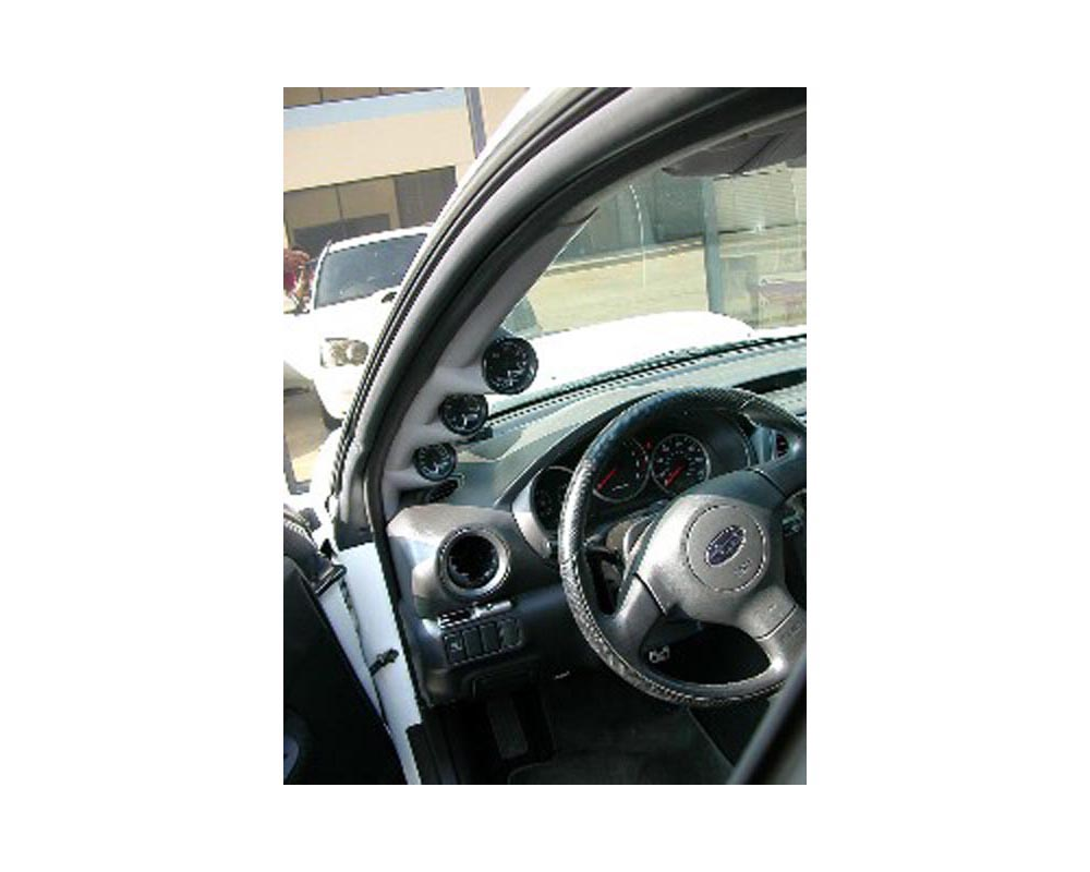 Lotek Triple A-Pillar Pod Subaru WRX Wagon 02-07 - LTK-WRXWGN-3PLR