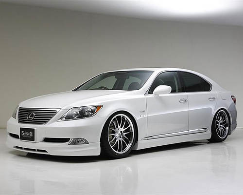 INGS LX Sport 3 pc Body Kit FRP Lexus LS460 / LS600 06-12 - 00243-01802