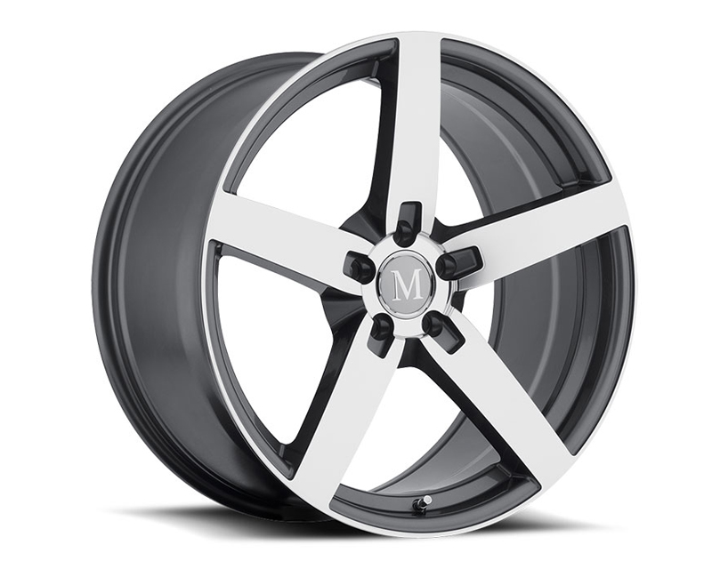 Mandrus Arrow Gunmetal with Mirror Cut Face Wheel 19x9.5 5x112 +52mm - MA-1995MAA525112G66