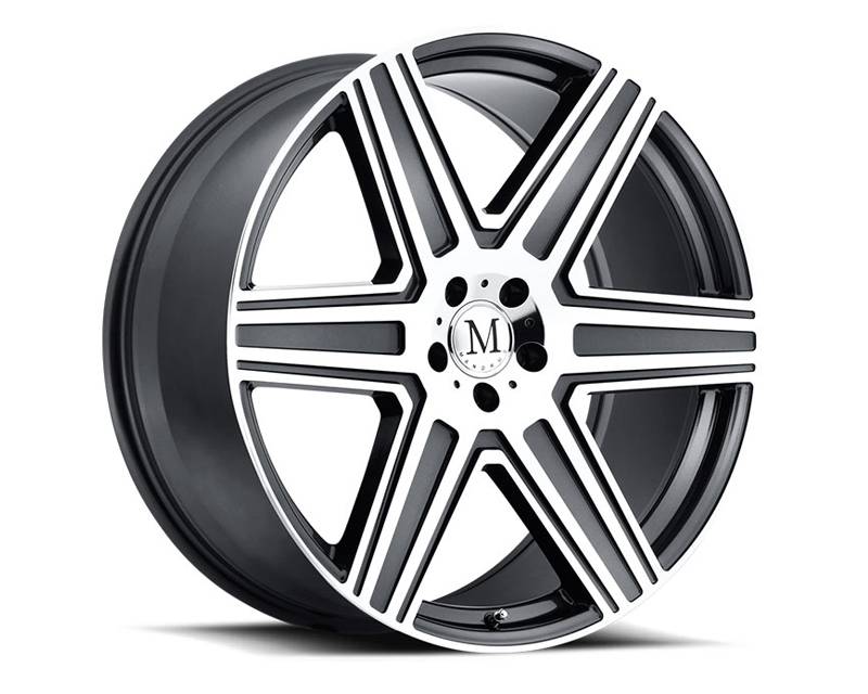 Mandrus Atlas Gunmetal with Mirror Cut Face Wheel 19x9.5 5x112 +35mm - MA-1995MAT355112G66