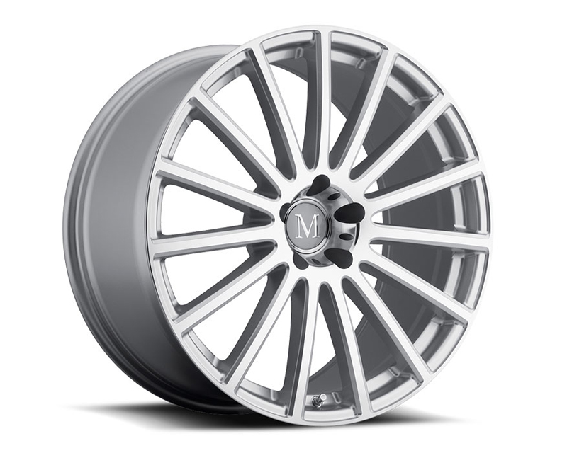 Mandrus Rotec Silver with Mirror Cut Face Wheel 20x10 5x112 +25mm - MA-2010MAC255112S66