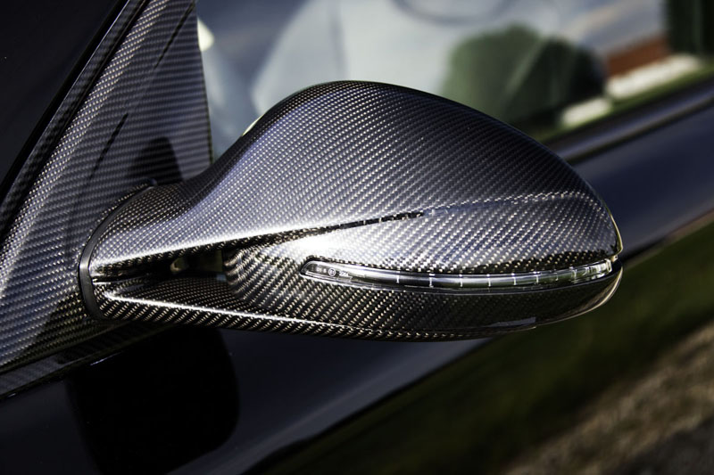 Mansory Carbon Fiber Side Mirrors With Turn Signals Porsche Cayenne 03-07 - 51 51 6000