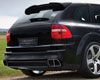 Image of Mansory Carbon Fiber Cover For Rear Diffuser Porsche Cayenne 03-07