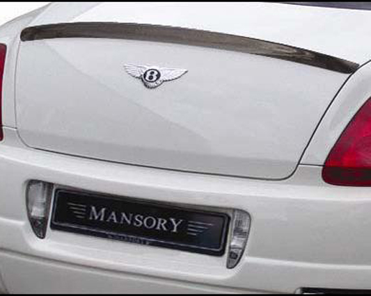 Mansory Carbon Fiber Rear Spoiler Bentley Continental GT 03-10 - 630 888 100