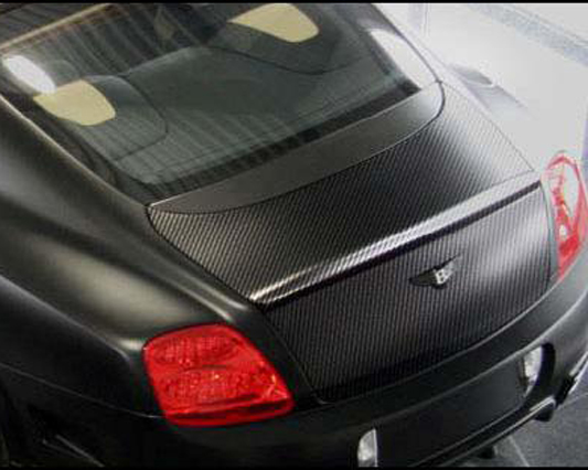 Mansory Carbon Fiber Trunk Lid w/ Rear Spoiler Bentley Continental GT Speed 03-10 - 880 888 820