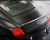 Mansory Carbon Fiber Trunk Lid With Rear Spoiler Bentley Continental GT Speed 03