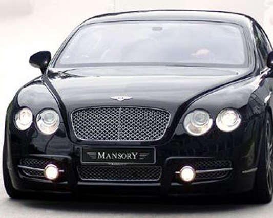 Mansory US Front Bumper w/ LED DRL Bentley Continental GT Speed 03-10 - 630 88S 219L