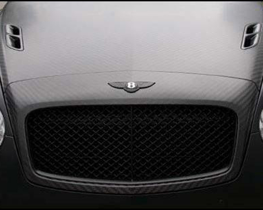 Mansory Carbon Fiber Grill Mask Bentley Continental GT Speed 03-10 - 880 888 810