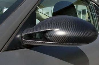 Mansory Carbon Mirror Set without Turn Signal Porsche 997.1 Carrera All Models 05-08 - 51 55 0610