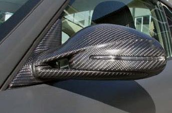 Mansory Carbon Mirror Set with Turn Signal Porsche 997.1 Carrera All Models 05-08 - 51 55 0620