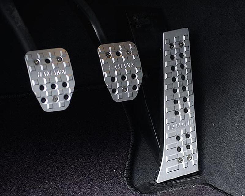 Hamann Aluminum Pedals Manual BMW 5 Series 10+