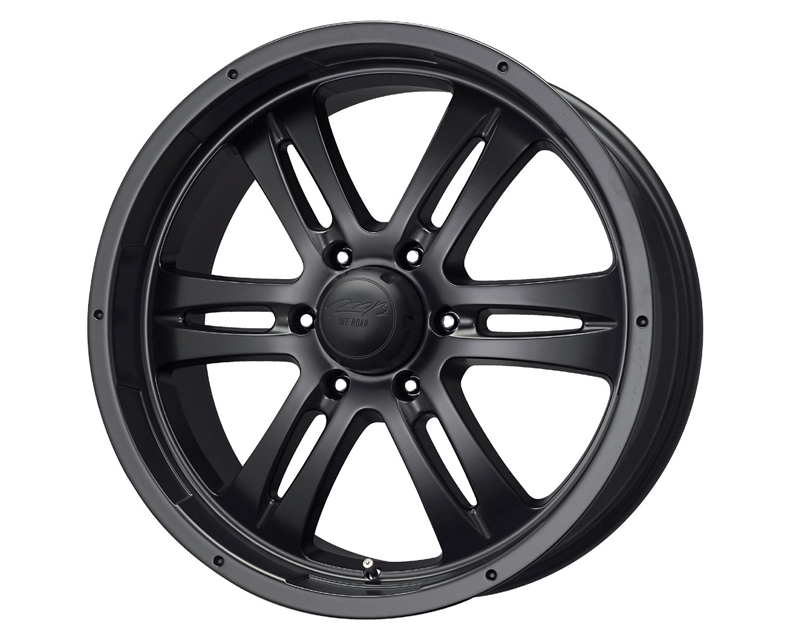 MB Wheels Gunner 6 18X8.5 6x139.7HR 25mm Matte Black