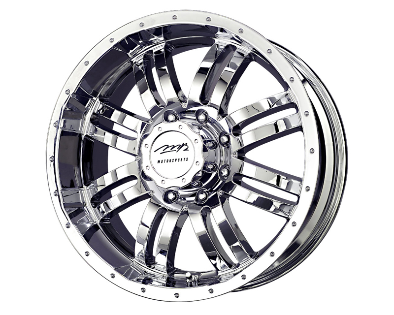 MB Wheels V-Drive 22X9.5 6x139.7HR 25mm Chrome