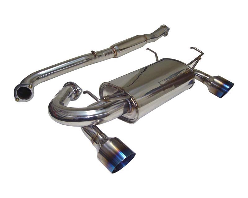 Megan Racing Catback Exhaust Nissan 350Z 02+ - MR-CBS-350Z