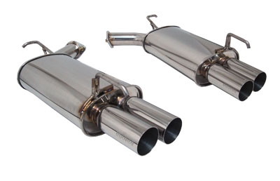 Megan Racing Axle Back Exhaust Infiniti M45 06-10 - MR-ABE-IM05