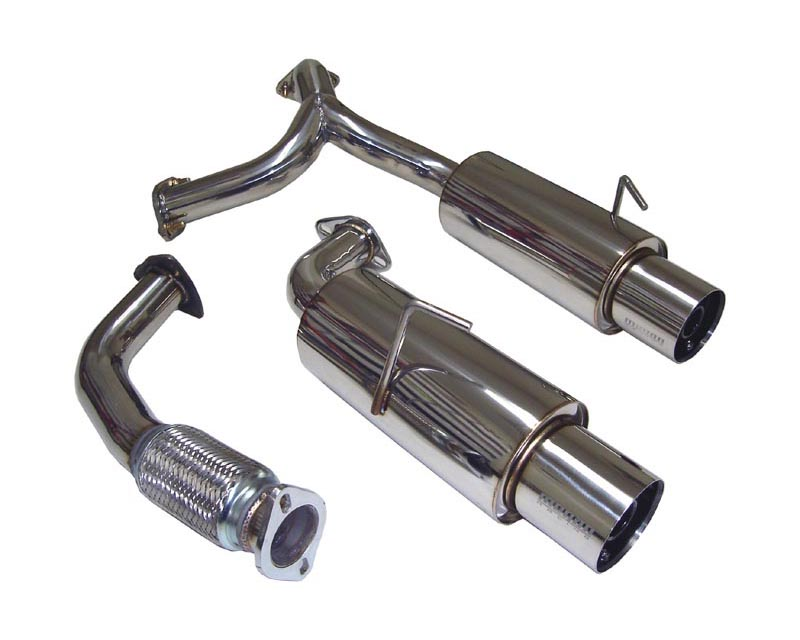 Megan Racing Catback Exhaust Toyota MR2 Non turbo 90-94 - MR-CBS-O