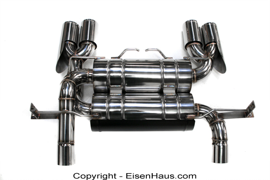 Meisterschaft Stainless HP Touring Exhaust BMW M3 Coupe / Convertible 08+