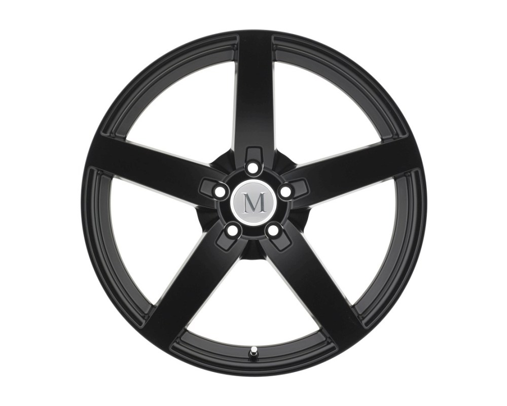Mandrus Arrow Matte Black Wheel 19x8.5 5x112 25mm CB66.6 - 1985MAA255112M66