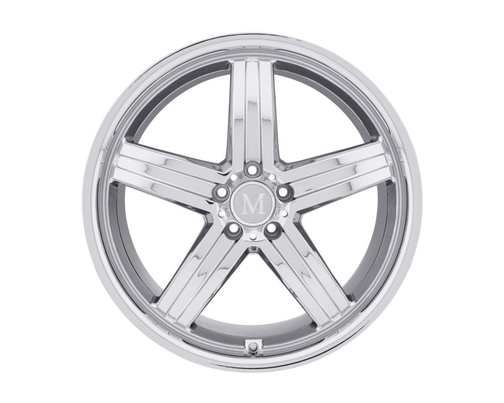 Mandrus Mannheim Chrome Wheel 18x8.5 5x112 43mm CB66.6 - 1885MAH435112C66