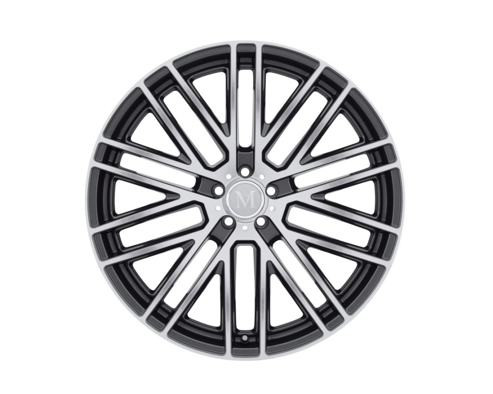 Mandrus Masche Wheel 19x9.5 5x112 50mm Gloss Gunmetal w/ Mirror Cut Face - 1995MMA505112G66