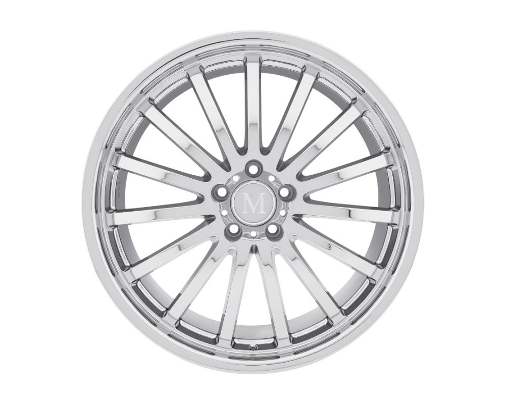Mandrus Millenium Chrome Wheel 19x9.5 5x112 53mm CB66.6 - 1995MAM535112C66