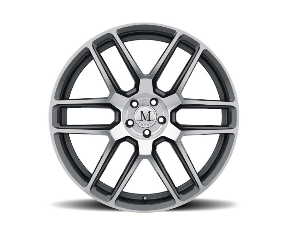 Mandrus Otto Wheel 19x8.5 5x112 42mm Gunmetal w/ Mirror Cut Face - 1985MOT425112G66