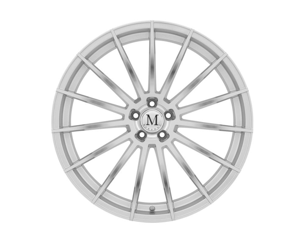 Mandrus Stirling Wheel 19x8.5 5x112 42mm Silver w/ Mirror Cut Face - 1985MAN425112S66
