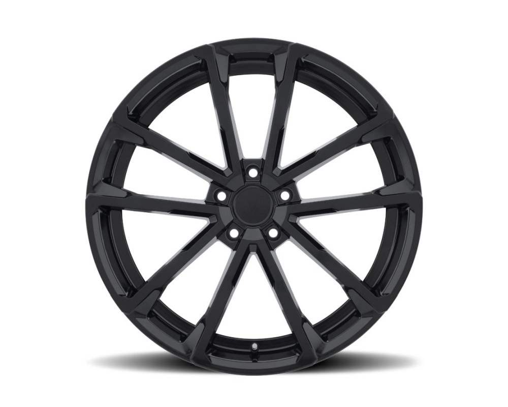 Mandrus Wolf Wheel 22x10.5 5x130 35mm Gloss Black - 2205WLF355130B84