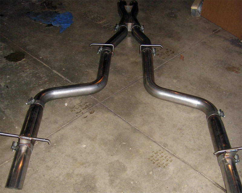 Image of Modern Horsepower Stainless Catback Exhaust Mercedes-Benz C63 AMG M156 08-11