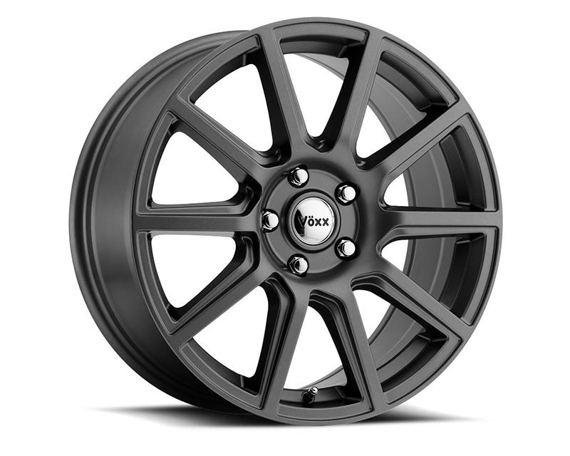 Voxx Mille Matte Black 17x7.5 5x100.00/114.30 40 BKMTXX - DT-48634