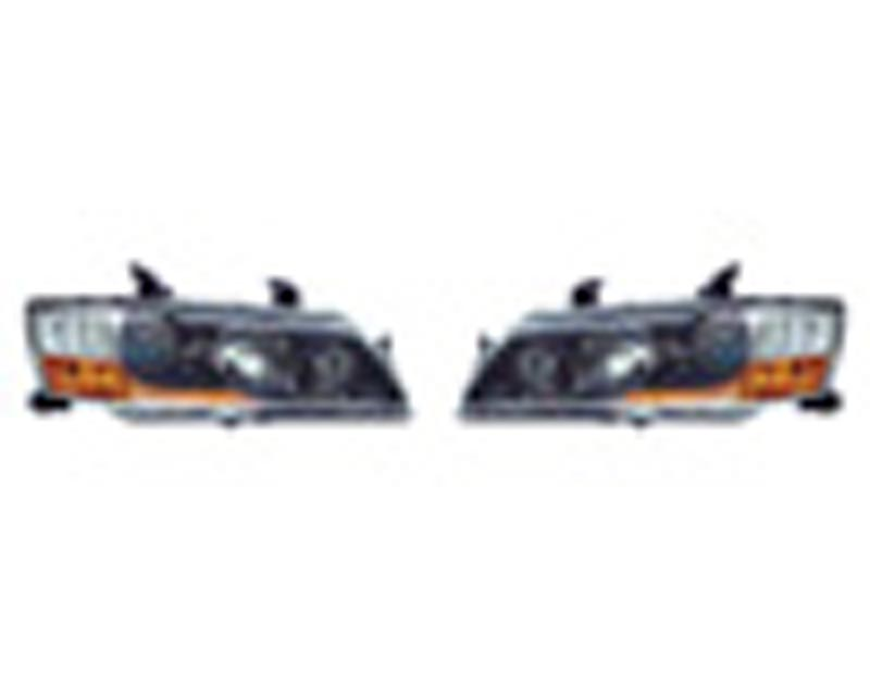 Image of OEM MR JDM Headlights Mitsubishi EVO IX 05-07
