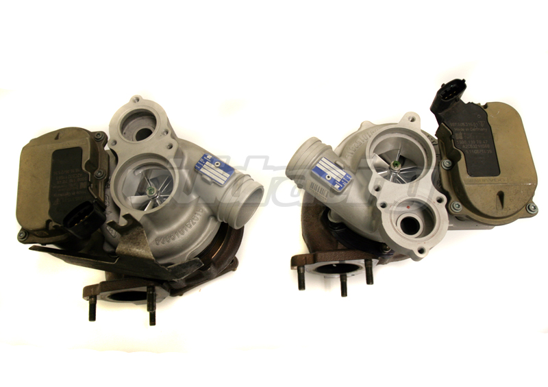 Agency Power Upgraded Billet VTG Turbos Porsche 997 Turbo | Turbo S 07-12