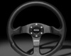 MOMO 350mm Competition Steering Wheel Black