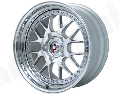 Cargraphic Custom 3-Piece Motorsport 5 Wheel 18x12.5 5x130