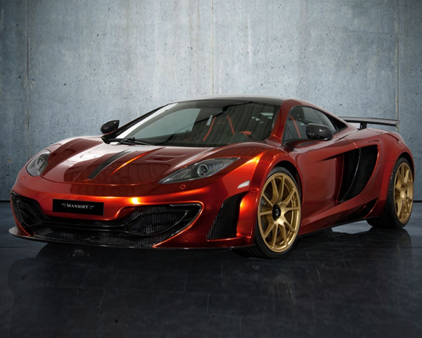 Mansory Complete Tuning Package McLaren MP4-12C 12+ - MANSORY-MP412C-KIT
