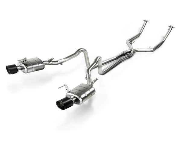 Image of Akrapovic Evolution Stainless Steel Exhaust Ford Mustang GT 05-10