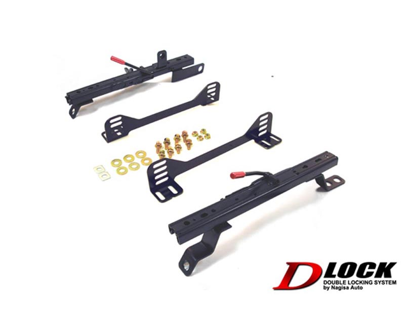 Nagisa Auto Super Low Seat Rail Double Lock Rightside Nissan 240sx S13 89-94 - XNSR011RD