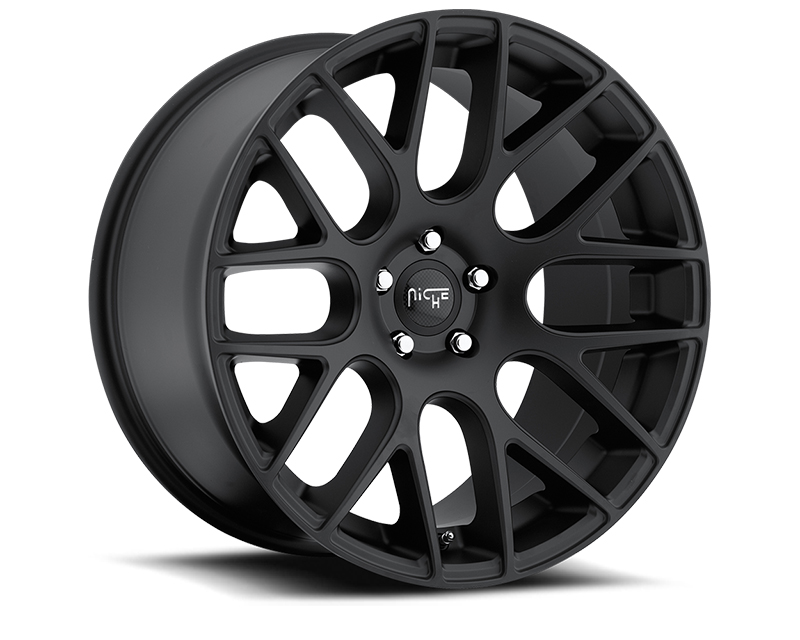 Niche Circuit M110 Matte Black Wheel 20x10 5x112 +40mm - M110200043+40