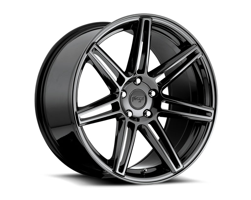 Niche Lucerne M141 Black Chrome Wheel 18x9.5 5x120 +40mm - M141189521+40