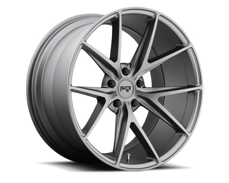 Niche Misano M116 Anthracite Wheel 17x8 5x120 +40mm - M116178021+40