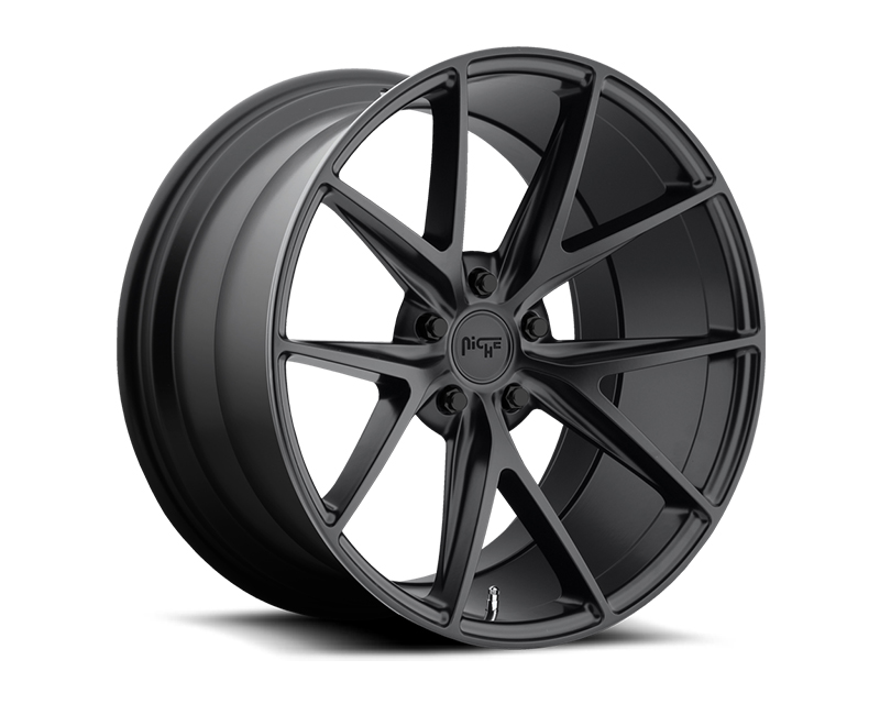 Niche Misano M117 Matte Black Wheel 20x10.5 5x112 +27mm - M117200543+27