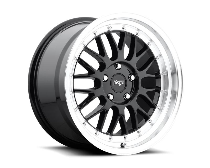 Niche Projekt M093 Black Machined Wheel 18x8.5 5x114.3 +25mm - M093188565+25