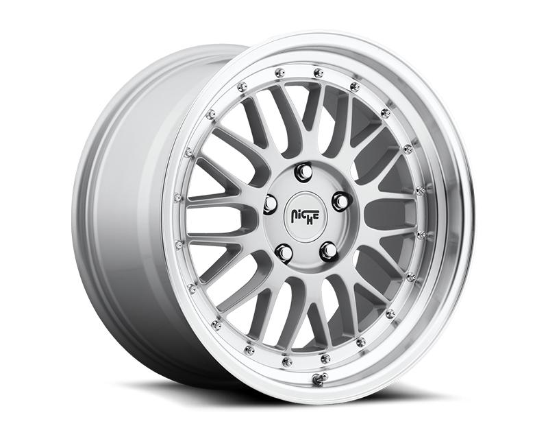 Niche Projekt M094 Silver Machined Wheel 18x8.5 5x112 +35mm - M094188543+35
