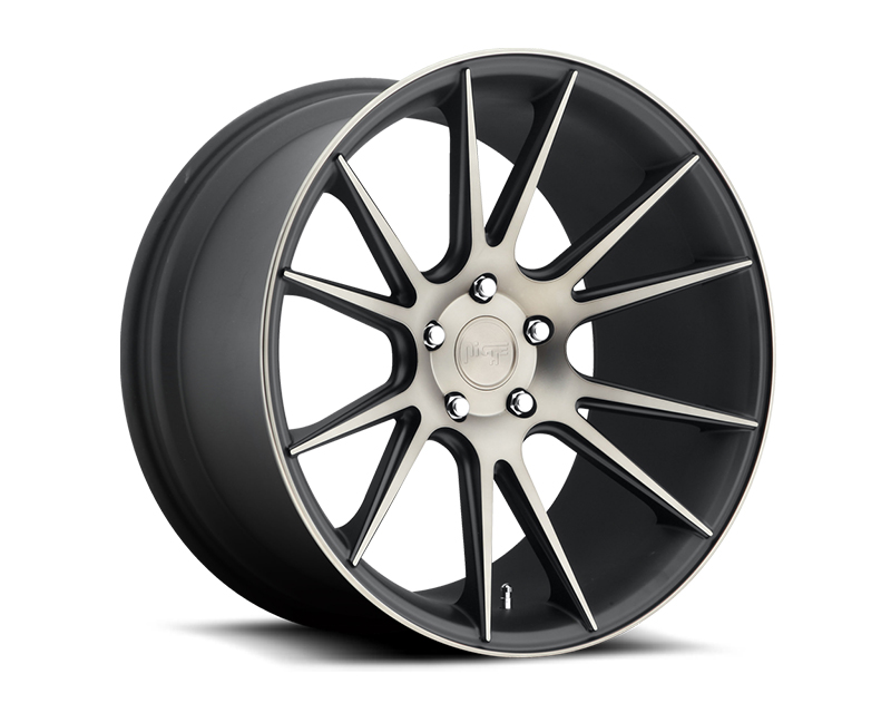 Niche Vicenza M153 Black Machined Wheel 20x10 5x114.3 +40mm - M153200065+40